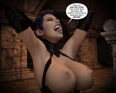 海倫 黑色的 吸血鬼 獵人 - 要 地獄 1 - 一部分 4