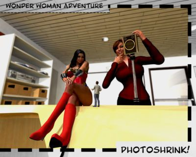 Wonder Woman Adventure - PhotoShrink!