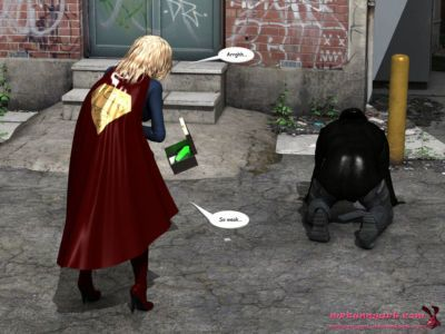 supergirl vs cain - part 2