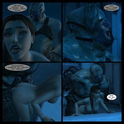 Lady & Stone Statue: Broken Ass - Part II - part 4