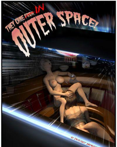 項目 復仇女神 10: 他們 來了 從 外太空