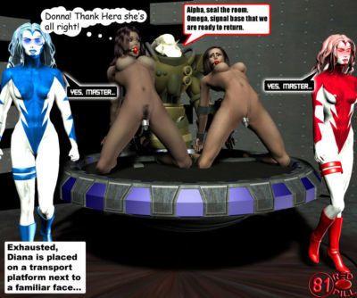 Wonderwoman enslavement comic - part 5