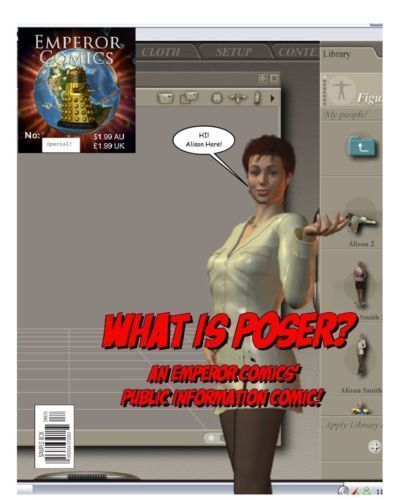 What is poser?