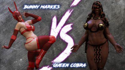 The F.U.T.A. - Season 01- Match 03 - Bunny Markes vs Queen Cobra