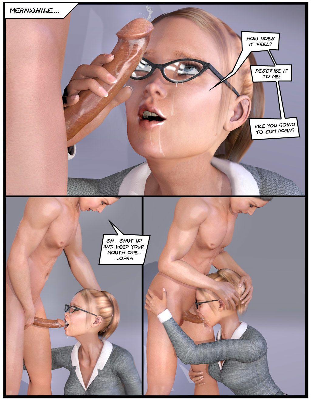 Порно комиксы стартрек