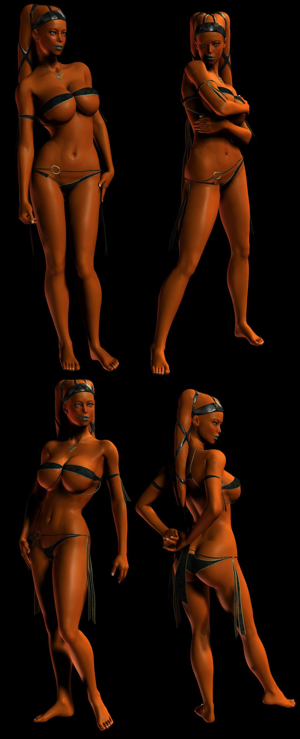 3D Twilek babes - part 4