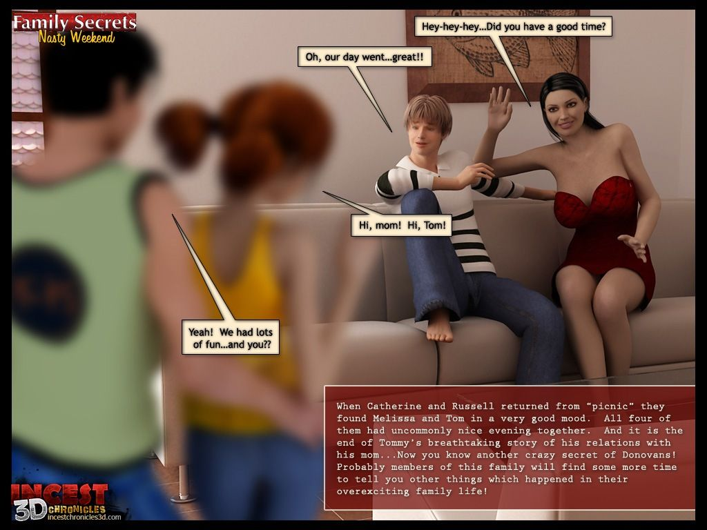 Family Secrets - Nasty Weekend - part 5