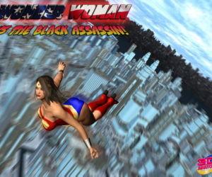Wonder Woman VS The Black Assassin