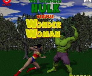 The Incredible Hulk Versus Wonder Woman