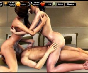 Living with Serena FF: Threesomes - part 3