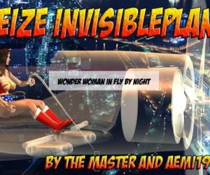 Wonder Woman - Seize Invisible Plane
