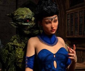 Hibbli3D – Sorceress Lori - Sold To Demons
