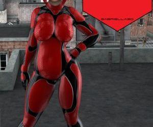 Heavy Amy - The fat superhero