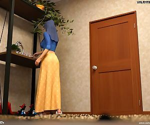 Hijab 3DX- Losekorntrol – Valentine 3
