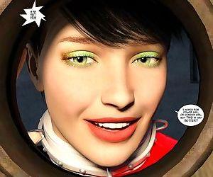New Arkham For Superheroines 3 - Back to School - part 4