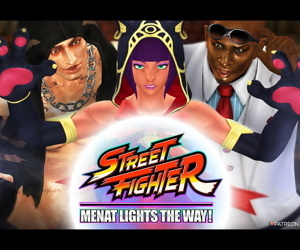 STREET FIGHTER / MENAT LIGHTS THE WAY