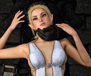 Hibbli3D- Priestess Rinil – Harassment