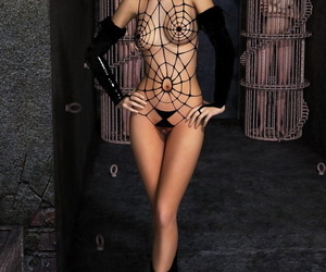 Incredibly revealing outfit on an incredibly sexy babe -..