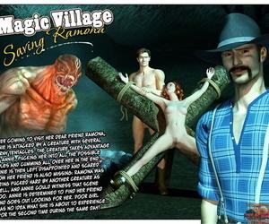 3D Taboo Comics Magic Village - Saving Ramona