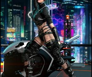 RiskyBomber Cyberpunk Fan Art