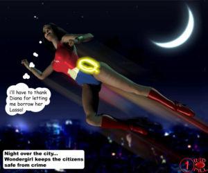 Wonderwoman enslavement comic