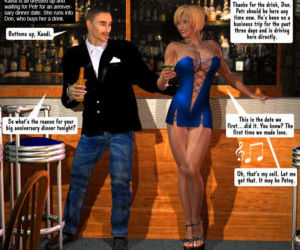 Entropy – Hot Wife in Blue Dress