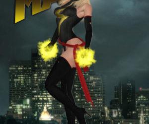 Ms. Marvel vs Red Hulk- The Return of Red Hulk