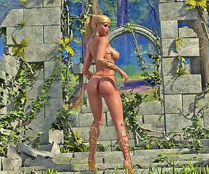 Nackt elf Prinzessin