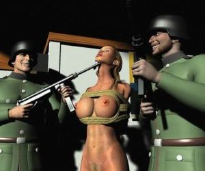 Huge Tits Nazi Cartoon Bondage Porn