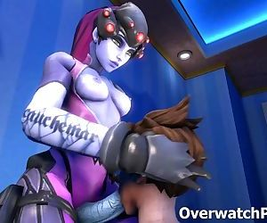 Overwatch Tracer XXX Video Compilation