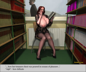 3Darlings Model Nadia at the Library - part 3