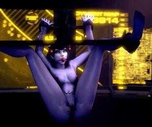 Overwatch Bondage Black Widow..