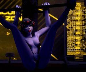 Overwatch Black Widow Sex Slave..