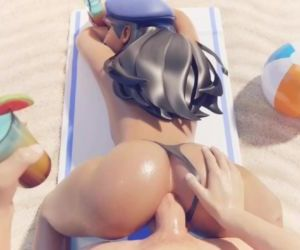 Overwatch - Ana fucked in the ass..
