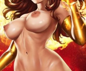 Picture- Nude Jean Grey by Dandon..