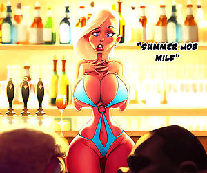 Comics Dirty adult comics bikini blonde milf.., blowjob , milf  erotic