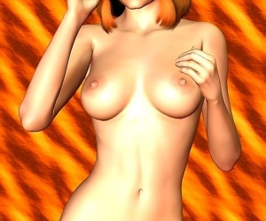 Comics Toon girl naked poses - part 7, 3d  All