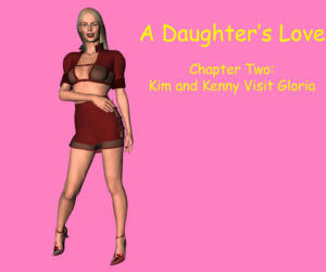 Comics A Daughter's Love 2- 3D Incest, family , group  dad-daughter