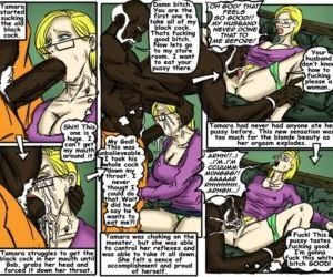 Comics Teach Tamara- illustrated interracial.., blowjob  forced