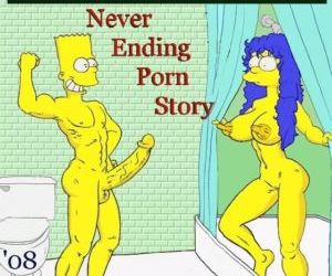 Comics Never Ending Porn Story, simpsons  family