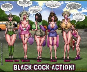 Comics Smudge- Black Cock Actions, blowjob , interracical  group