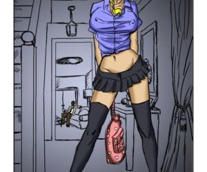 Comics Nymph 1-2 illustrated interracial, anal , blowjob  black cock