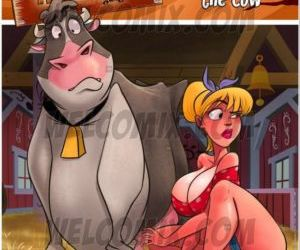 Comics Welcomix- Hillbilly Gang 7- Milking Cow, blowjob , family  welcomix