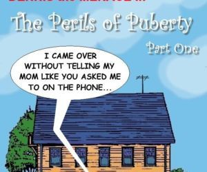 Comics Dennis The Menace- Perils of Puberty, brother sister