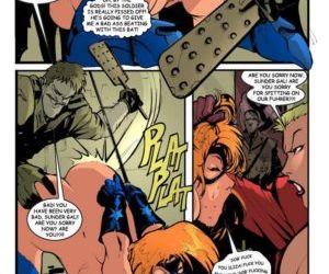 Comics Against the Evil Nazis 2 - part 2, western  hardcore