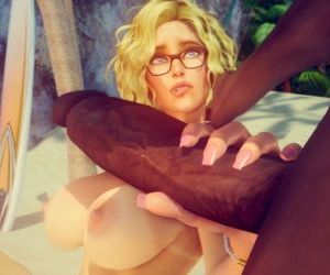 Comics Shassai- Tropical Fantasies - part 3, anal , blowjob  interracical