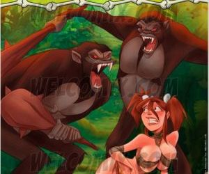 Comics Welcomix- Jurassic Tribe 5- Captured.., family  welcomix
