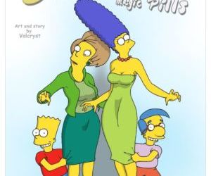 Comics Magic Pills- The Simpsons, family  simpsons