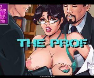 Comics Gush Bomb-The Prof, blowjob  group