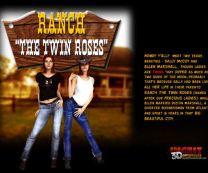 Comics Ranch The Twin Roses. Part 1, pussy licking  pussy-licking